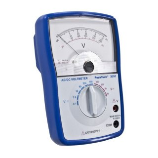 Analoges Voltmeter AC/DC, PeakTech 3201