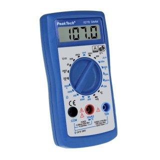 PeakTech 1070, Digital-Multimeter 3 ½-stellig