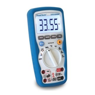 PeakTech 3355, Profi-Digital-Multimeter, 3 3/4-stellig, IP67