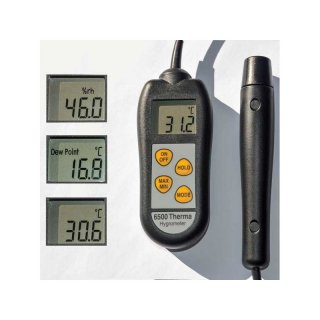 Therma- Hygrometer mit ext. Sensor, Modell 6500