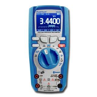 PeakTech 3440, Graphical Multimeter, 4 5/6 Digit - PSE - Priggen ...