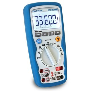 PeakTech 3360, Profi-Digital-Multimeter, 4 3/4-stellig, IP67