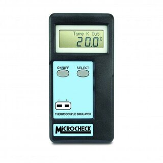 Thermometer- Tester/Thermoelement- Simulator, MicroCheck