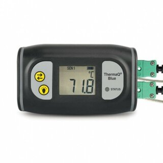 ThermaQ Blue, 2-Channel Thermometer with Bluetooth LE