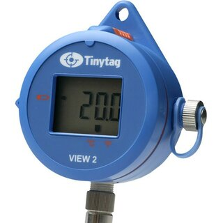 TV-4204, Tinytag View 2, 16 Bit, IP65 Temperature Data Logger with Display,  for ext  Pt1000 Sensors