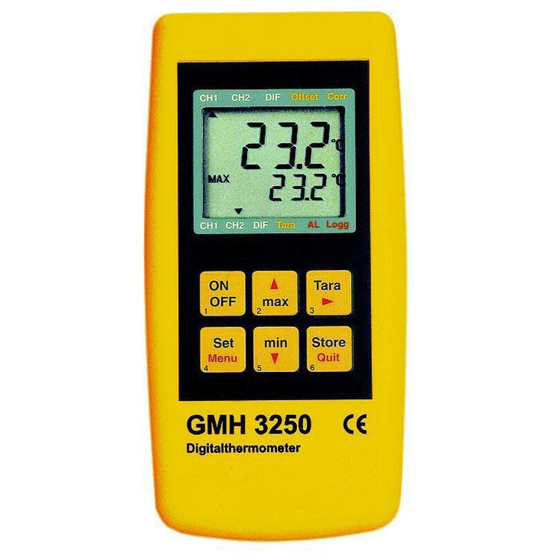 Gmh 3251 Precision Thermometer With Dual Display Pse