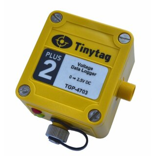TGP-4703, Tinytag Plus 2, Spannungs- Datenlogger, 0-2,5VDC, IP68